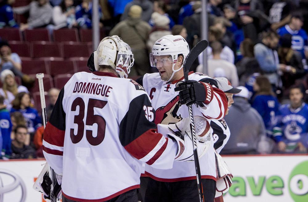 NHL: JAN 04 Coyotes at Canucks