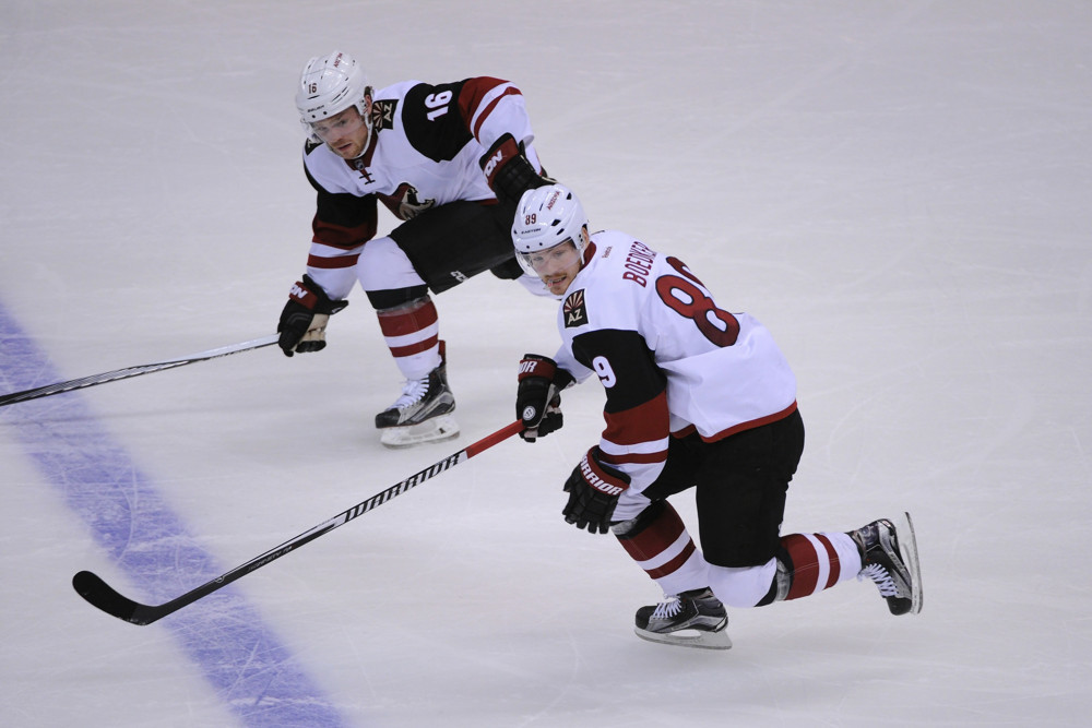 Who do you think the Coyotes' MVP is? (Photo by Gerry Angus/Icon Sportswire)